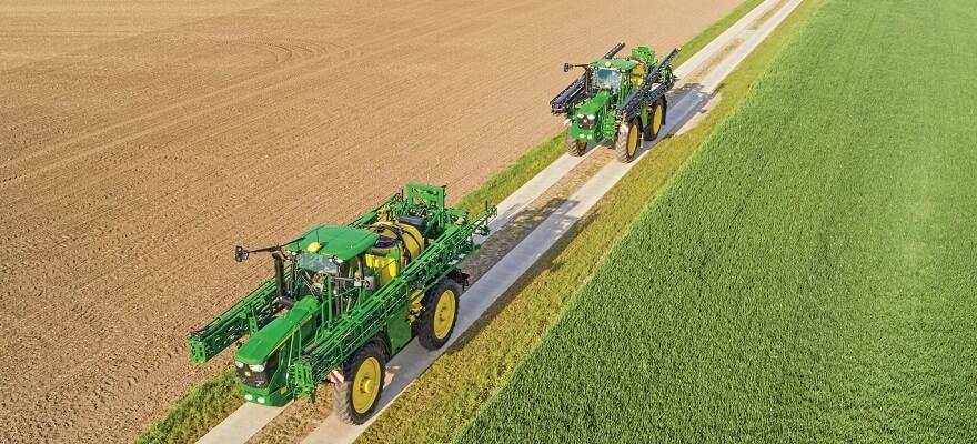 Iseliikuvad taimekaitsepritsid R4140i ja R4150i