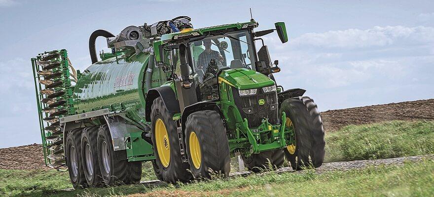 John Deere seab kütusekulu võrdlusaluse transpordil