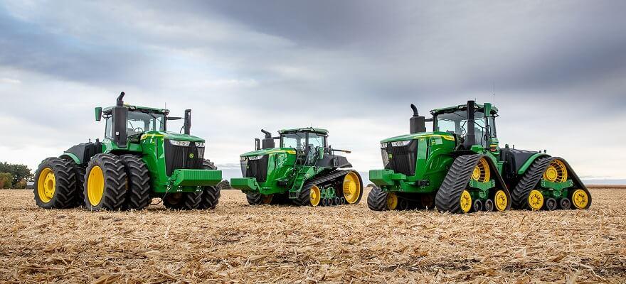 Uued John Deere 9-seeria traktorid