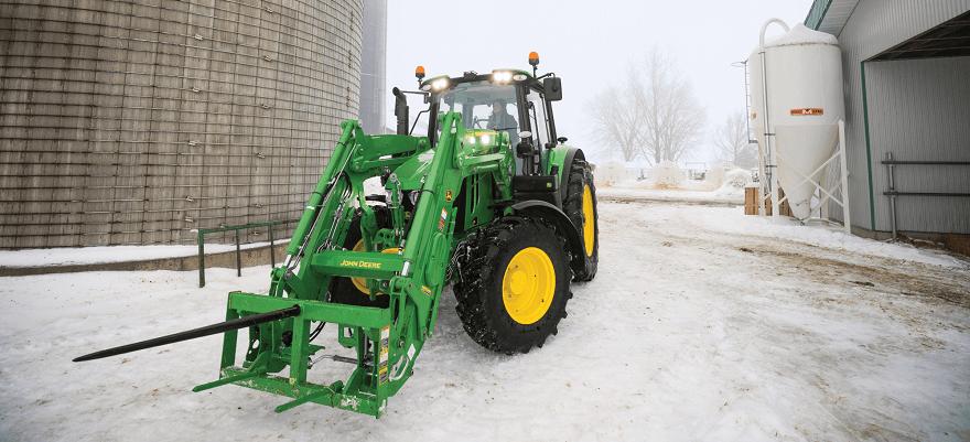 Eberspächer eelsoojendi traktoritele